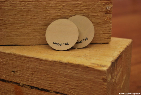 WOODY – RFID Wooden Tag